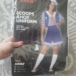 Halloween Scoops Ahoy Uniform Sm Stranger Things